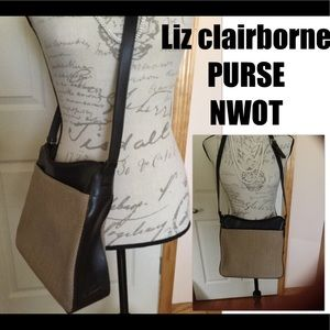 Liz Clairborne purse, new without tags, never used